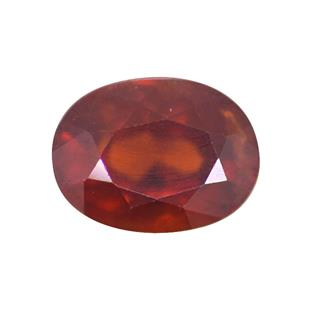 NATURAL HESSONITE ( GOMED ) 5.91 CTS (7545)
