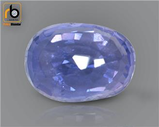 NATURAL  UNHEATED UNTREATED BLUE Sapphire / Neelam 3 cts. ( 67334 )