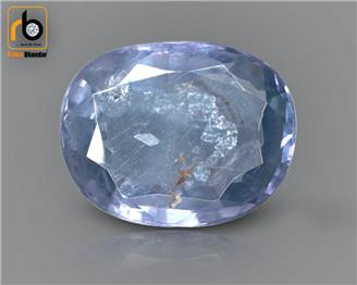 NATURAL  UNHEATED UNTREATED BLUE Sapphire / Neelam 3.96 cts. ( 3250 )