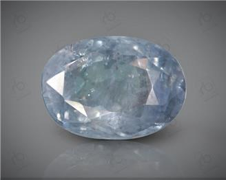 NATURAL UNHEATED,UNTREATED  Blue Sapphire / Neelam (S) 6.12 CTS ( 92934 )