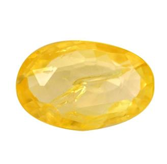 NATURAL UNHEATED UNTREATED YELLOW SAPPHIRE (PUKHRAJ) 3.10 CTS (7151)
