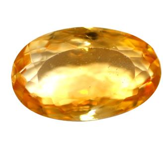 NATURAL YELLOW CITRINE (SUNELA) 8.89 CTS (6045-333-135)