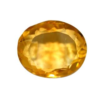 NATURAL YELLOW CITRINE (SUNELA) 5.62 CTS (6080-333-135)
