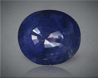 Blue Sapphire Heated & Treated Natural Certified   5.23  CTS  (  1368  )  (DIN)