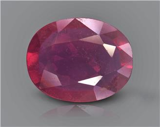 Natural Ruby (Manik) Heated Treated Certified 2.10 CTS... ( 38115 )