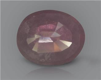 Natural Ruby (manik) Heated Treated Certified 3.77 CTS... ( 39229 )