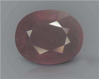 Natural Ruby (manik) Heated Treated Certified 3.92 CTS... ( 44002 )
