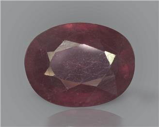 Natural Ruby (manik) Heated Treated Certified 3.09 CTS... ( 44027 )