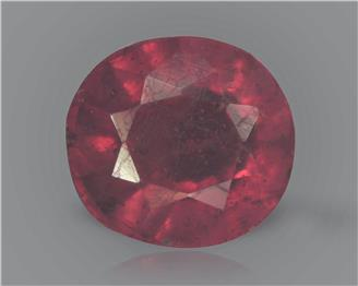 Natural Ruby (manik) Heated Treated Certified 2.33 carats -89475