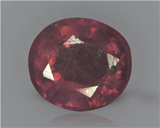 Natural Ruby (manik) Heated Treated Certified 2.42 carats -89501