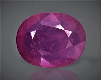 Natural Ruby (manik) Heated Treated Certified  5.50 cts. ( 83265 )