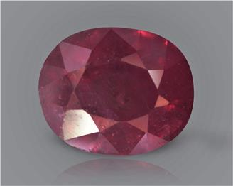 Natural Ruby (Manik) Heated Treated Certified 2.56 CTS... ( 80419 )