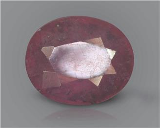 Natural Ruby (manik) Heated Treated Certified 3.09 carats -88491