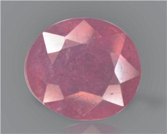 Natural Ruby (manik) Heated Treated Certified 2.98 carats -88503
