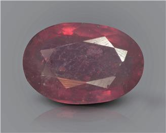 Natural Ruby (manik) Heated Treated Certified 2.77 carats -88505