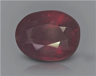 Natural Ruby (manik) Heated Treated Certified 2.5 carats -88517