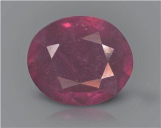 Natural Ruby (manik) Heated Treated Certified 2.82 carats -88527