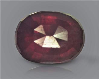 Natural Ruby (manik) Heated Treated Certified 3.17 carats -88535