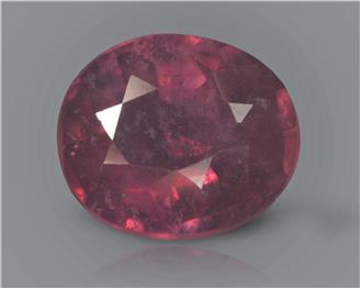 Natural Ruby (manik) Heated Treated Certified 2.37 carats -88537