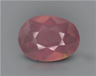 Natural Ruby (manik) Heated Treated Certified 2.97 carats -88542