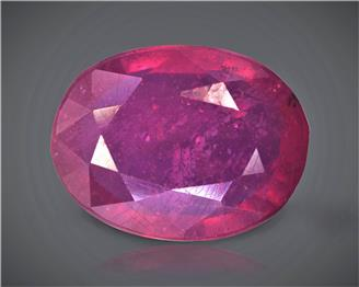 Natural Ruby (Manik) Heated Treated Certified 3.47 carats -88544