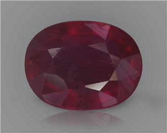 Natural Ruby (Manik) Heated Treated Certified 2.17 CTS... ( 80356 )