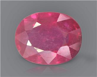 Natural Ruby (Manik) Heated Treated Certified 2.15 CTS... ( 80372 )