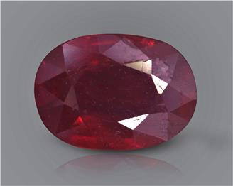 Natural Ruby (Manik) Heated Treated Certified 3.67 CTS... ( 80382 )