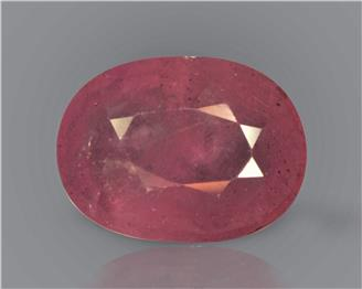 Natural Ruby (Manik) Heated Treated Certified 5.78 cts.. ( 88436 )