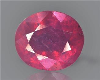 Natural Ruby (Manik) Heated Treated Certified 2.41 carats -89479