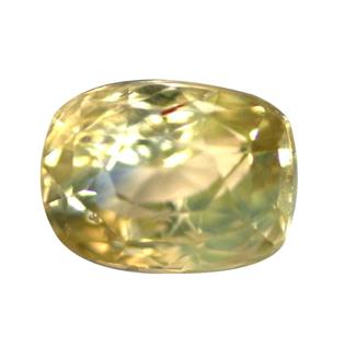 NATURAL UNHEATED UNTREATED YELLOW SAPPHIRE (PUKHRAJ) 3.15 CTS (6350)