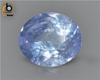 NATURAL UNHEATED UNTREATED Blue Sapphire / Neelam 3.84 CTS ( 92840 )
