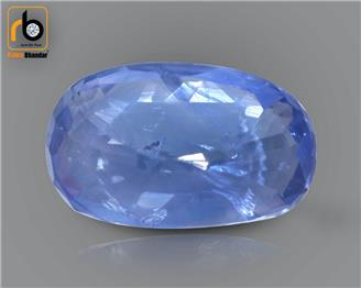 NATURAL   BLUE SAPPHIRE   5.28  CTS  (  4636  )  (DIN)