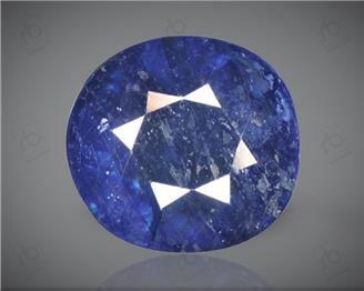 Blue Sapphire Heated & Treated Natural Certified 6.04CTS-2014