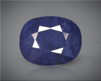 Blue Sapphire Heated & Treated Natural Certified 3.77 carats -96613