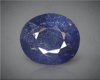Blue Sapphire Heated & Treated Natural Certified 4.08 carats -96636