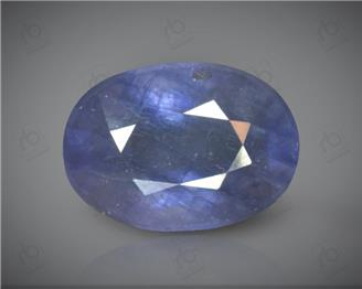 Blue Sapphire Heated & Treated Natural Certified 5.96 CTS ( 16852 )