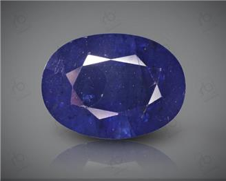 Blue Sapphire Heated & Treated Natural Certified 6.89CTS-16900