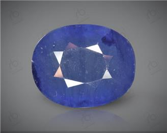 Blue Sapphire Heated & Treated Natural Certified 4.99CTS-16955