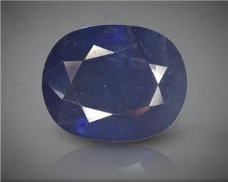 Blue Sapphire Heated & Treated Natural Certified 10.77CTS-17048