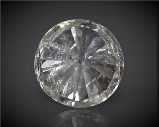 Diamond Stone Natural Certified  I-1 J 0.12CTS-2755