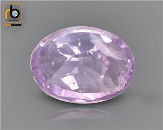 NATURAL UNHEATED UNTREATED  PINK SAPPHIRE  (C) 2.57 CRT ( 49697 )
