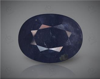 Blue Sapphire Heated & Treated Natural Certified  6.46 CTS ( 16847 )