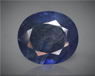 Blue Sapphire Heated & Treated Natural Certified  7.14 CTS ( 16857 )