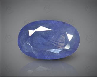 Blue Sapphire Heated & Treated Natural Certified  3.37CTS-16975