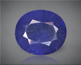 Blue Sapphire Heated & Treated Natural Certified  8.15CTS-17051