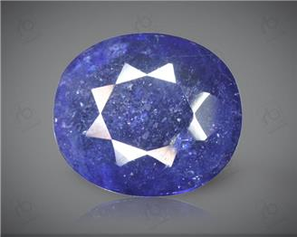 Blue Sapphire Heated & Treated Natural Certified 5.43CTS-2016