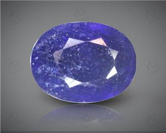 Blue Sapphire Heated & Treated Natural Certified 3.93 carats -96594