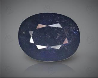 Blue Sapphire Heated & Treated Natural Certified 3.48 carats -96635