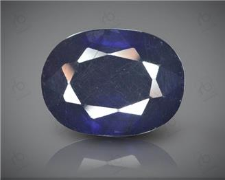 Blue Sapphire Heated & Treated Natural Certified 7.37 carats -96637
